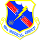 Logo: 99th Medical Group - Nellis Air Force Base